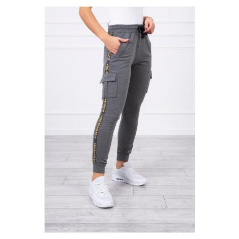 Pants cargo graphite