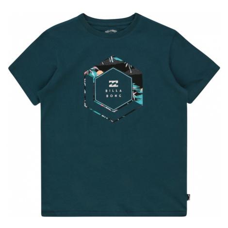 BILLABONG Funkčné tričko  petrolejová / zmiešané farby
