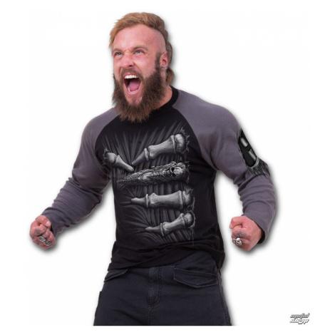tričko SPIRAL Death Grip Čierna sivá