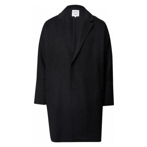 DAN FOX APPAREL Prechodný kabát 'Tobias'  čierna