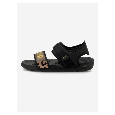 Softride Sandále Puma Čierna