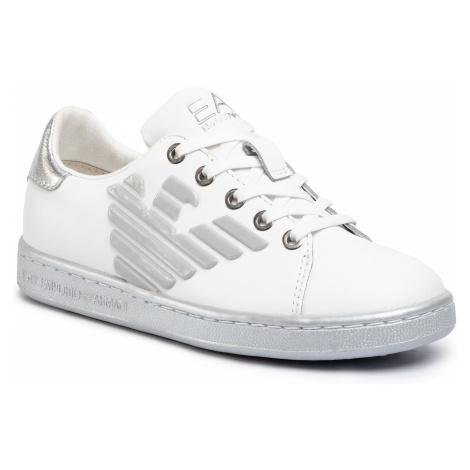 Sneakersy EA7 EMPORIO ARMANI - XSX006 XCC53 00175 White/Silver