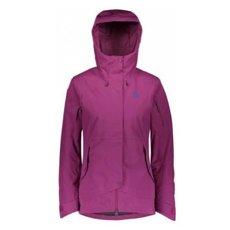 Scott ULTIMATE DRYO 40 W fialová - Dámska zimná bunda