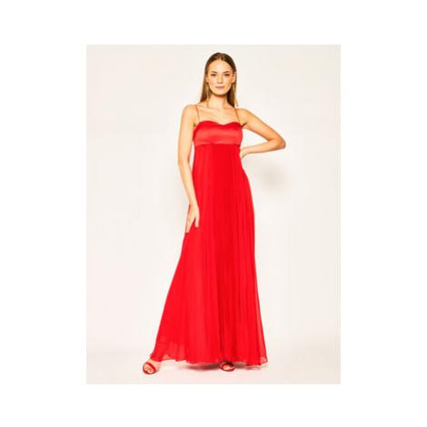 Pinko Večerné šaty Bambi PE 20 PBK2 1B14B3 6242 Červená Regular Fit