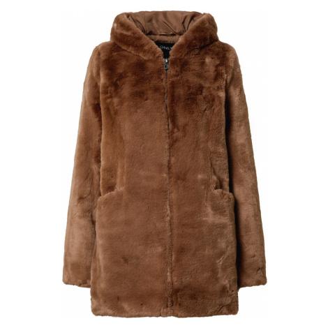 ONLY Zimný kabát 'MALOU'  hnedá