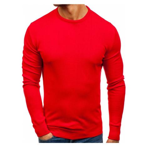 Červený pánsky sveter BOLF 201 COMEOR