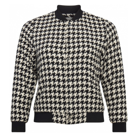 Guido Maria Kretschmer Curvy Collection Prechodná bunda 'Jolie'  biela / čierna
