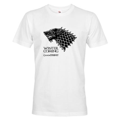 Pánske tričko Winter is Coming - motív zo seriálu Games of Thrones
