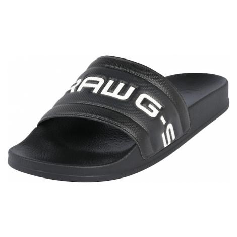 G-Star RAW Šľapky 'Cart Slide III'  čierna
