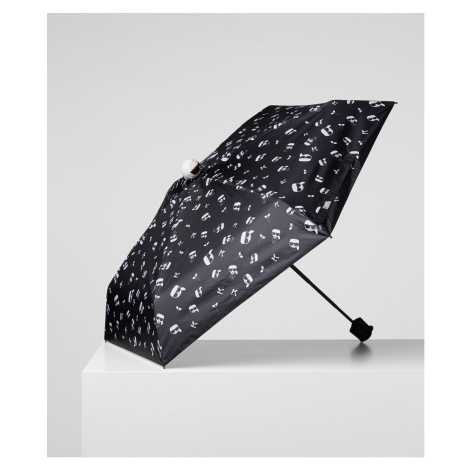 Dáždnik Karl Lagerfeld K/Ikonik Karl Print Umbrella