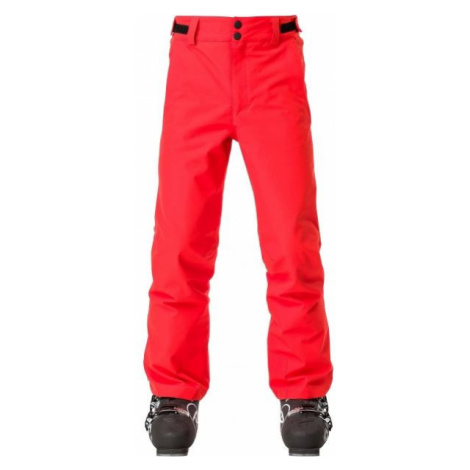 Rossignol BOY SKI PANT červená - Juniorské lyžiarske nohavice