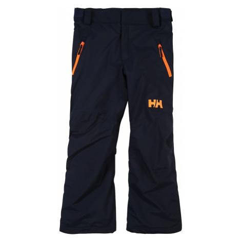HELLY HANSEN Outdoorové nohavice 'LEGENDARY'  námornícka modrá / oranžová