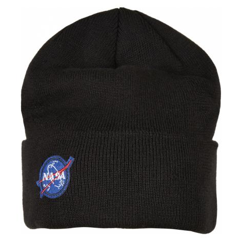 MR.TEE Pánska zimná čiapka NASA Embroidery Beanie