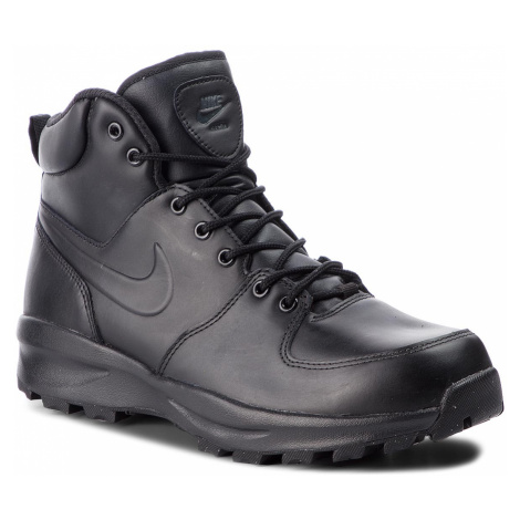 Topánky NIKE - Manoa Leather 454350 003 Black/Black/Black