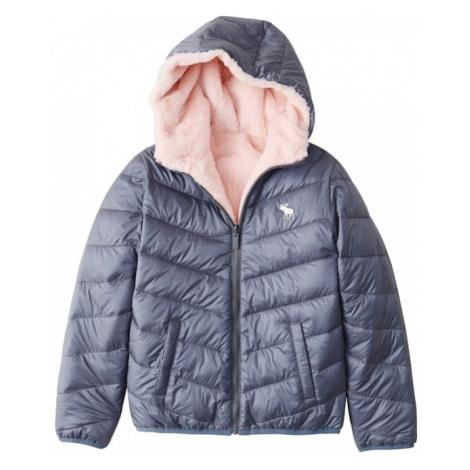 Abercrombie & Fitch Zimná bunda  tmavomodrá