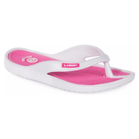 Women's flip flops DUBLIN white LOAP
