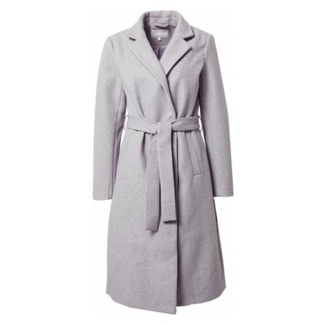 VILA Prechodný kabát 'Paka Cooley'  sivá melírovaná