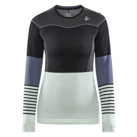 Craft FUSEKNIT COMFORT BLOCKED RN LS W - Dámske funkčné tričko