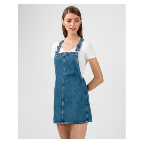 Pepe Jeans Sukně na traky Modrá