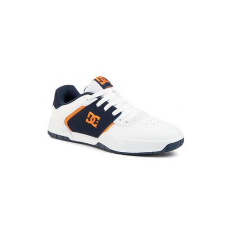 DC Sneakersy Central ADYS100551 Biela