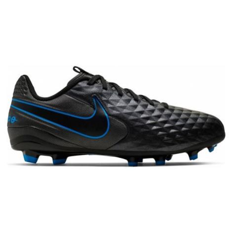 Nike JR TIEMPO LEGEND 8 ACADEMY FG/MG čierna - Detské kopačky