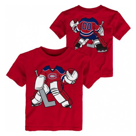Detské tričko Outerstuff Goalie Dreams NHL Montreal Canadiens