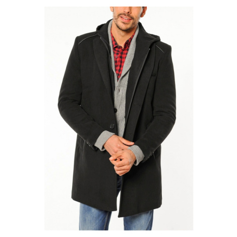 PLT8351 DEWBERRY COAT-BLACK