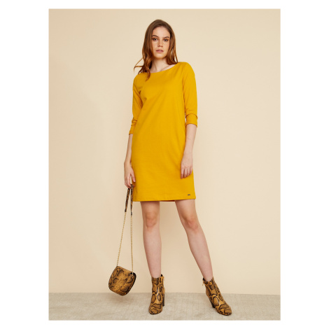 Žlté šaty ZOOT Baseline Hana 2