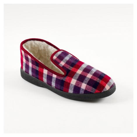 Blancheporte Hrejivé papuče bordó