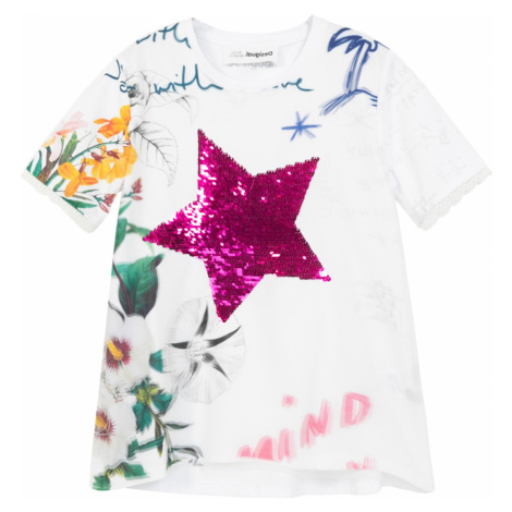 Desigual biele dievčenské tričko TS Amparo