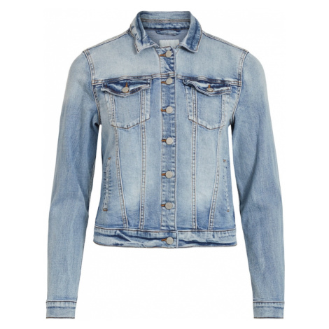 VILA Prechodná bunda 'VISHOW'  modrá denim