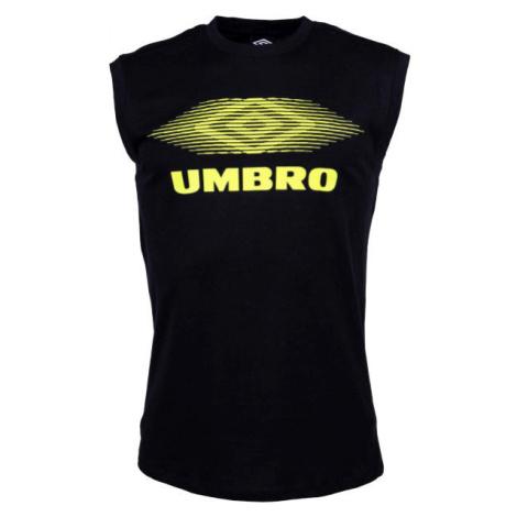 Umbro MOIRE GRAPHIC VEST čierna - Pánske tričko