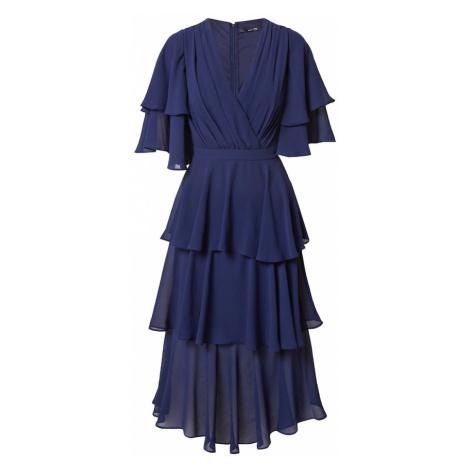 TFNC Večerné šaty 'GIANA'  tmavomodrá