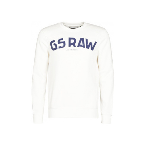 G-Star Raw GSRAW GR R SW LS Biela