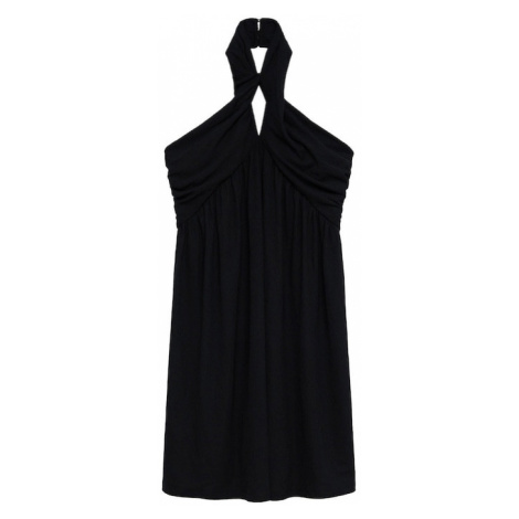 MANGO Kokteilové šaty 'Vestido'  čierna