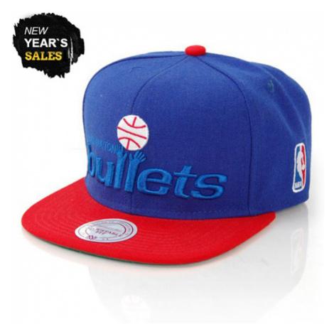 Mitchell & Ness XL Logo Washington Bullets 2 Tone Snapback - Veľkosť:UNI