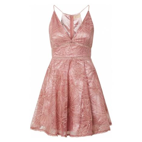 Love Triangle Kokteilové šaty 'Constellations'  rosé