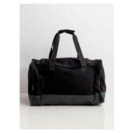 Men´s black travel bag