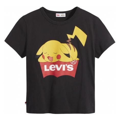 LEVI'S Tričko 'Pokemon'  čierna / žltá / červená Levi´s