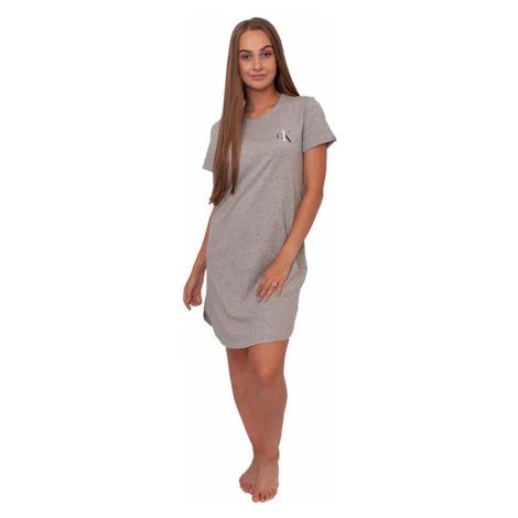 Women´s nightgown CK ONE gray Calvin Klein