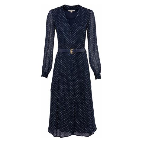 MICHAEL Michael Kors Košeľové šaty  námornícka modrá / biela