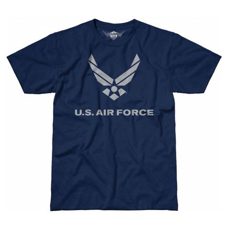 Pánske tričko 7.62 Design® US Air Force Flight - modré