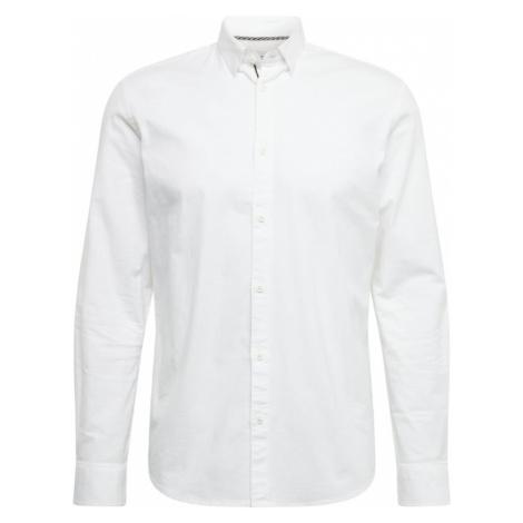 !Solid Košeľa 'Juan Oxford'  biela