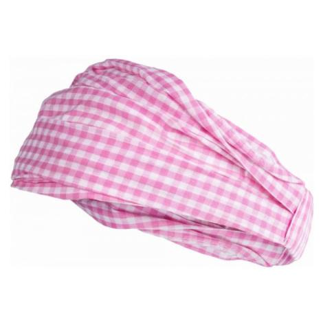Lewro KATE ružová - Dievčenská šatka na hlavu