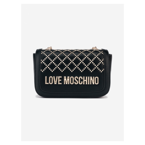 Kabelka Love Moschino Čierna