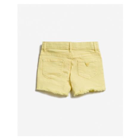 Guess Šortky detské Žltá