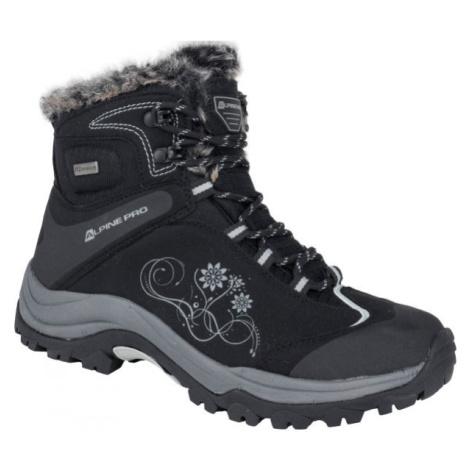 ALPINE PRO BANOFFE čierna - Dámske zimné topánky