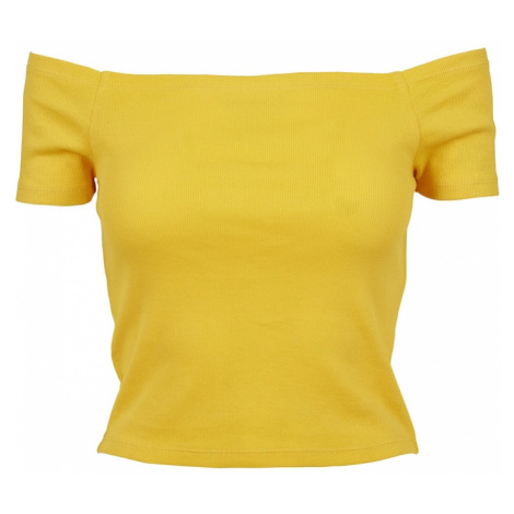 Urban Classics Tričko  citrónová žltá