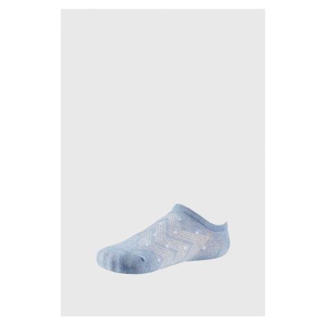 Dámske nízke ponožky Cordelia modrá Ysabel Mora