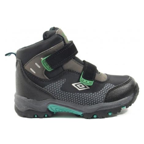 Umbro JON zelená - Detská trekingová obuv